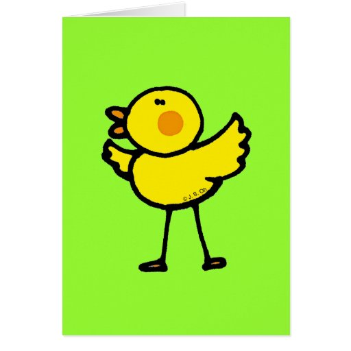 Little chick cards