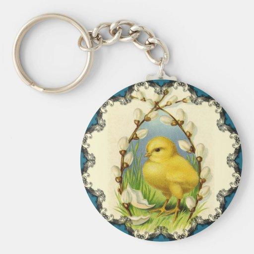 Little Chick Easter Keychain