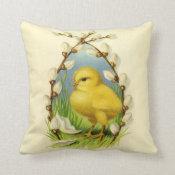 Little Chick Easter Pillow