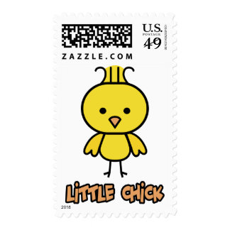 Little Chick Postage Stamp