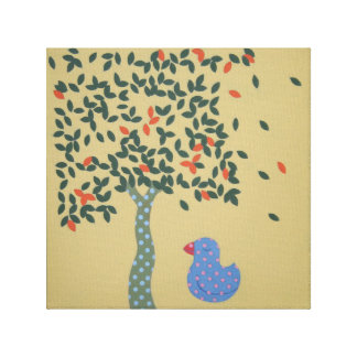 Little Chick Print Canvas Print