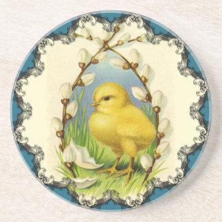 Little Chick Vintage Coaster