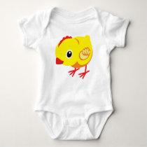 little chicken baby bodysuit
