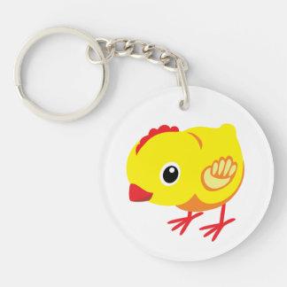 little chicken keychain