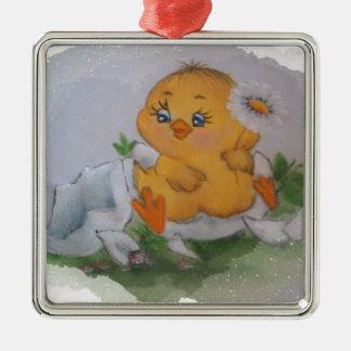 Little chicken ornament