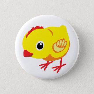 little chicken pinback button