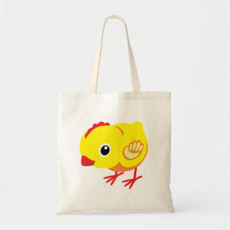 little chicken tote bag