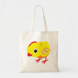 little chicken tote bag