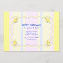 Little Chickens Baby Shower Invitation