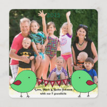Little chicks custom holiday card