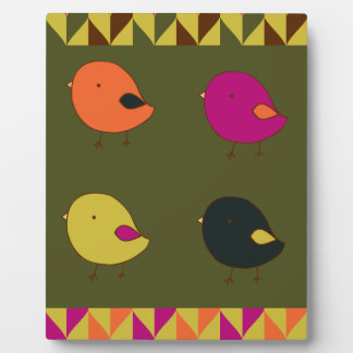 Little chicks customizable plaque
