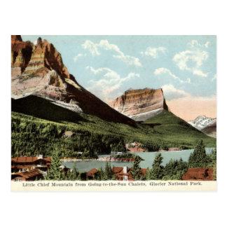 Little Chief Mountain, Glacier National Park, MT Postcard