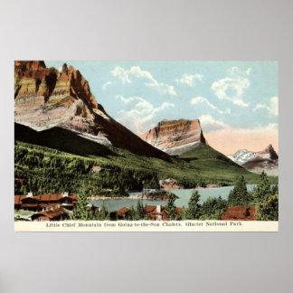 Little Chief Mountain, Glacier National Park, MT Poster