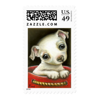 Little Chihuahua Postage Stamps
