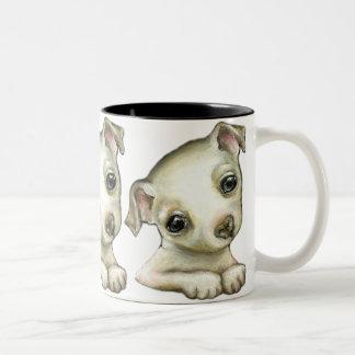 Little Chihuahua Two-Tone Coffee Mug