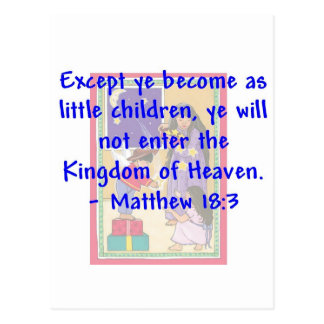 Little Children Postcard