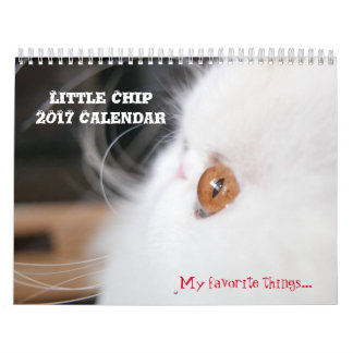 Little Chip 2017 Calender Calendar