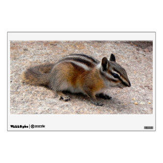Little Chipmunk on Path Wall Decal