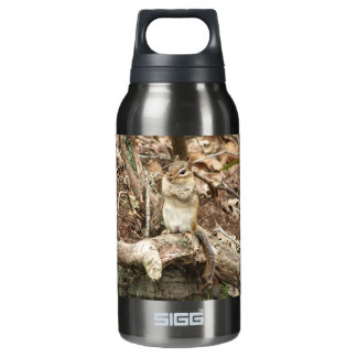 Little Chipmunk with Attitude Insulated Water Bottle