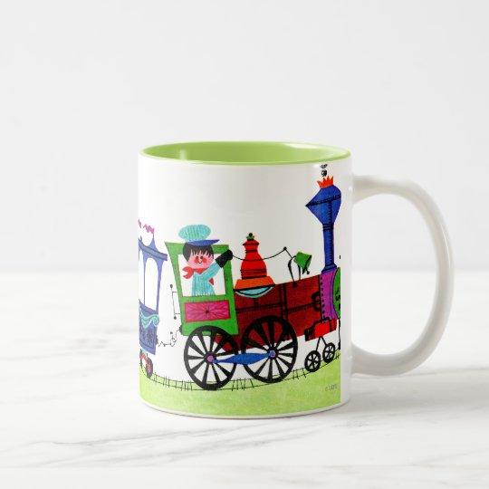 Little Choo Choo Two-Tone Coffee Mug