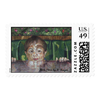 Little Chris Postage Stamps