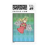 Little Christmas Angel Holiday Stamps