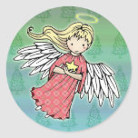 Little Christmas Angel Stickers