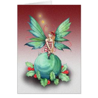 Little Christmas Fairy Christmas Card