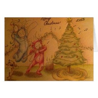 Little Christmas Musicians Card