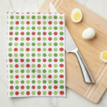 Little Christmas Polka Dots Kitchen Towels
