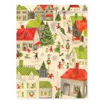 Little Christmas Village Post Card