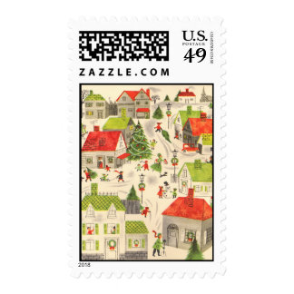 Little Christmas Village Stamps