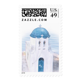 Little Church in Greece Postage Stamps