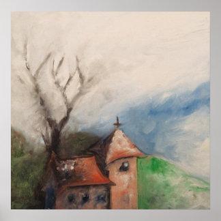 Little Church on a Hill Poster