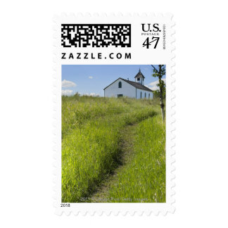 Little Church On The Canadian Prairies Postage