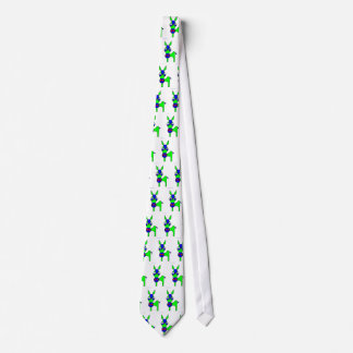 Little Claus and Big Claus - Green Horse Tie