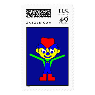 Little Claus Postage Stamp