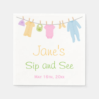 Little Clothes Baby Sip and See Napkin