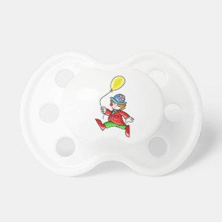 Little Clown with Balloon Pacifier