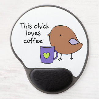 Little coffee chick mousepad