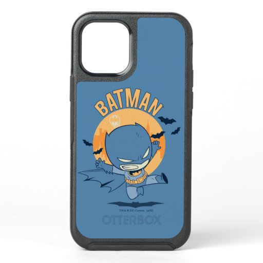 Little Comic Batman Flying Kick OtterBox Symmetry iPhone 12 Case