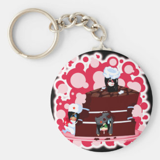 Little Commie Cake Keychains