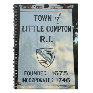 Little Compton, RI - Founded 1675 Notebooks