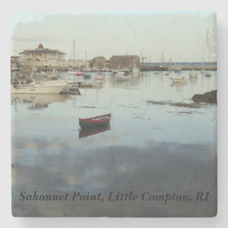 Little Compton, RI - Sakonnet Point Stone Coaster