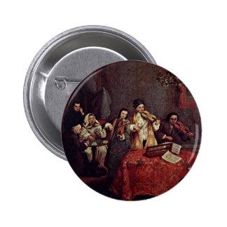Little Concert By Longhi Pietro (Best Quality) Buttons