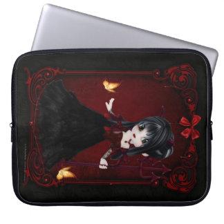 Little Cookie Devil Girl 1 Fantasy Laptop Sleeve