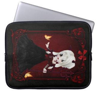 Little Cookie Devil Girl 2 Fantasy Laptop Sleeve