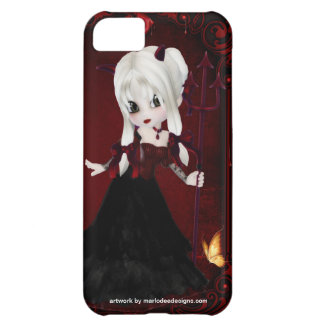 Little Cookie Devil Girl Design 2 iPhone 5C Cover