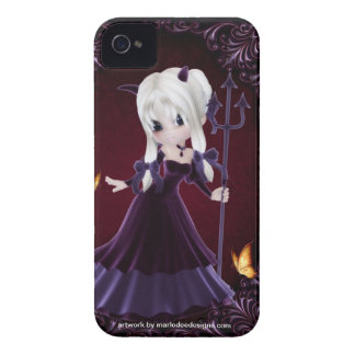 Little Cookie Devil Girl Design 7 iPhone 4 Cover