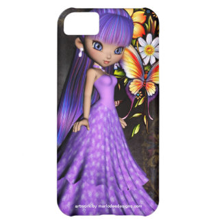 Little Cookie Dress Girl Design 2 Cover For iPhone 5C